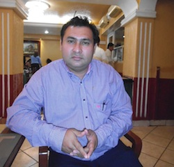 Jose Alfredo Soto representante de la iniciativa privada