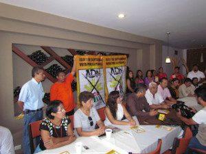 Colectivo Democrático de la COCEI le apuesta a ADN-UCD en el proceso interno.2