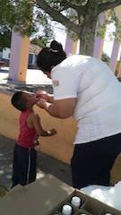 23 Febrero 2015 Aplicación de la vacuna SABIN