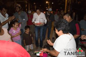 """FAMILIAS ENTERAS DISFRUTARON DE LA PRESENCIA DE YARITH TANNOS EN PASO LIMÃ""""N"""