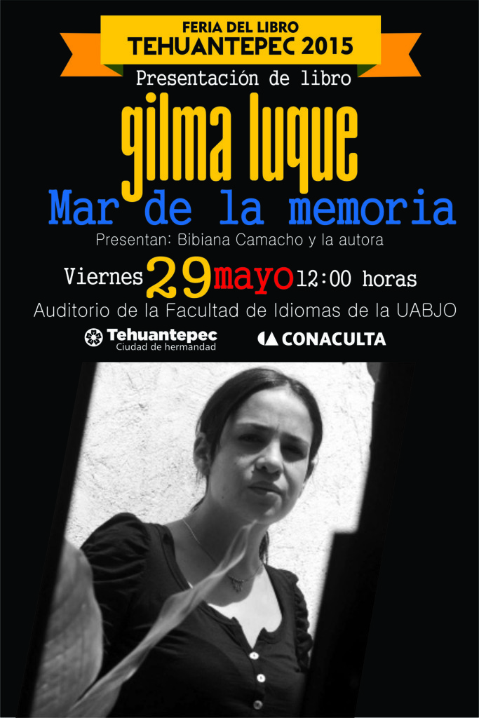 29 Mayo flyer GILMA LUQUE