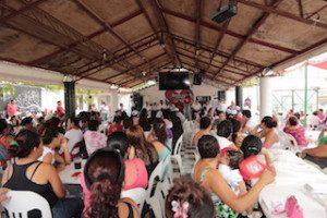"""LOS MÃ-S DE 600 ASISTENTES SE COMPROMETIERON A TRABAJAR EN FAVOR DE YARITH TANNOS PARA QUE SEA ELLA LA QUE GANE EN UNIÃ""""N HIDALGO"""