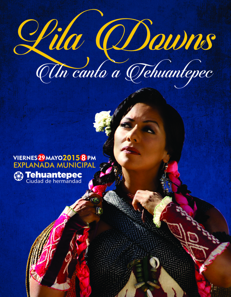 flyer Lila Downs tehua