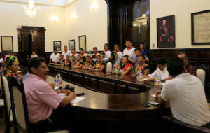 Delegación de Tehuantepec abrirá la Guelaguetza 2015 (4)