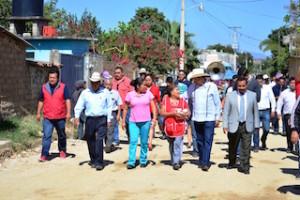 mejora calles Cacaotepec